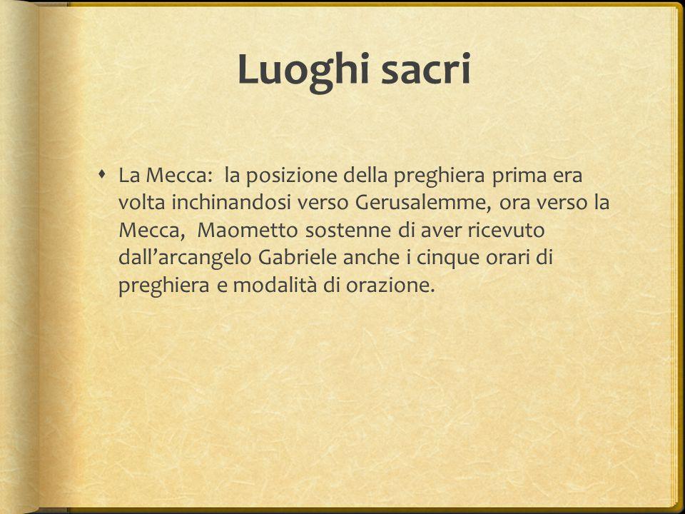 Luoghi sacri