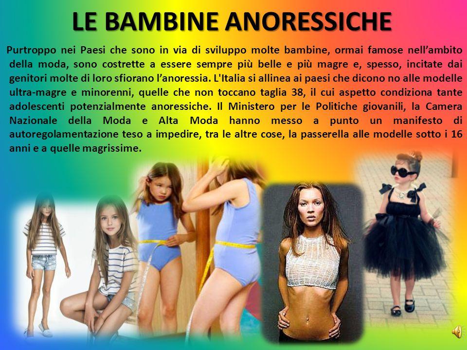 LE BAMBINE ANORESSICHE