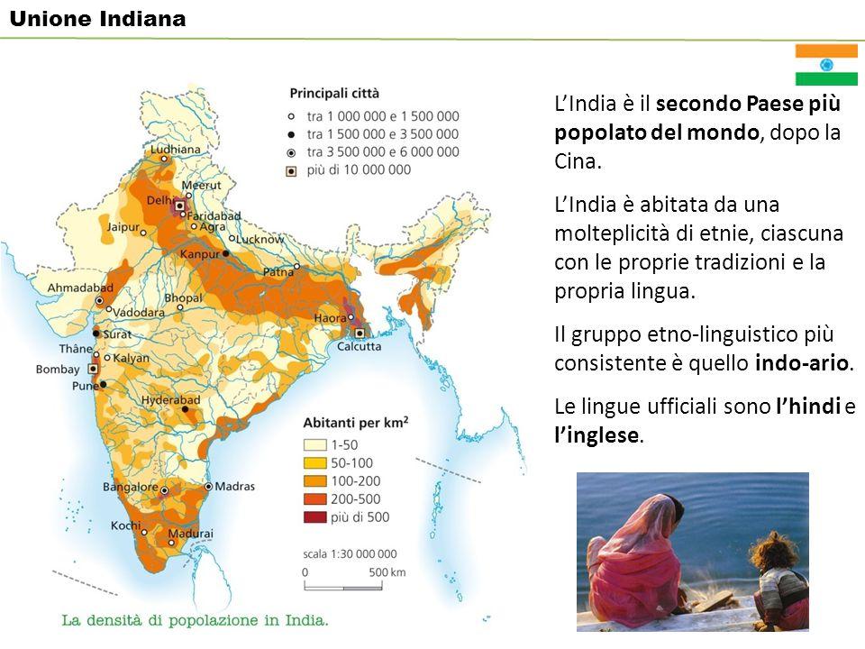 L'India è il secondo Paese più popolato del mondo, dopo la Cina.