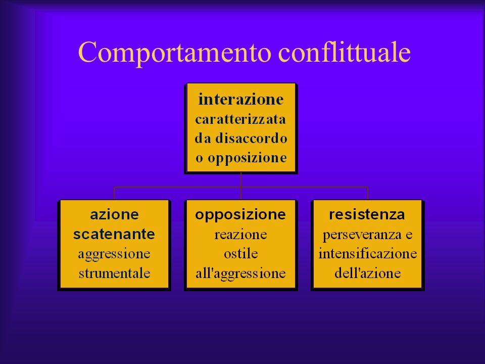 Comportamento conflittuale