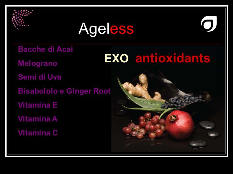 EXO antioxidants Bacche di Acai Melograno Semi di Uva