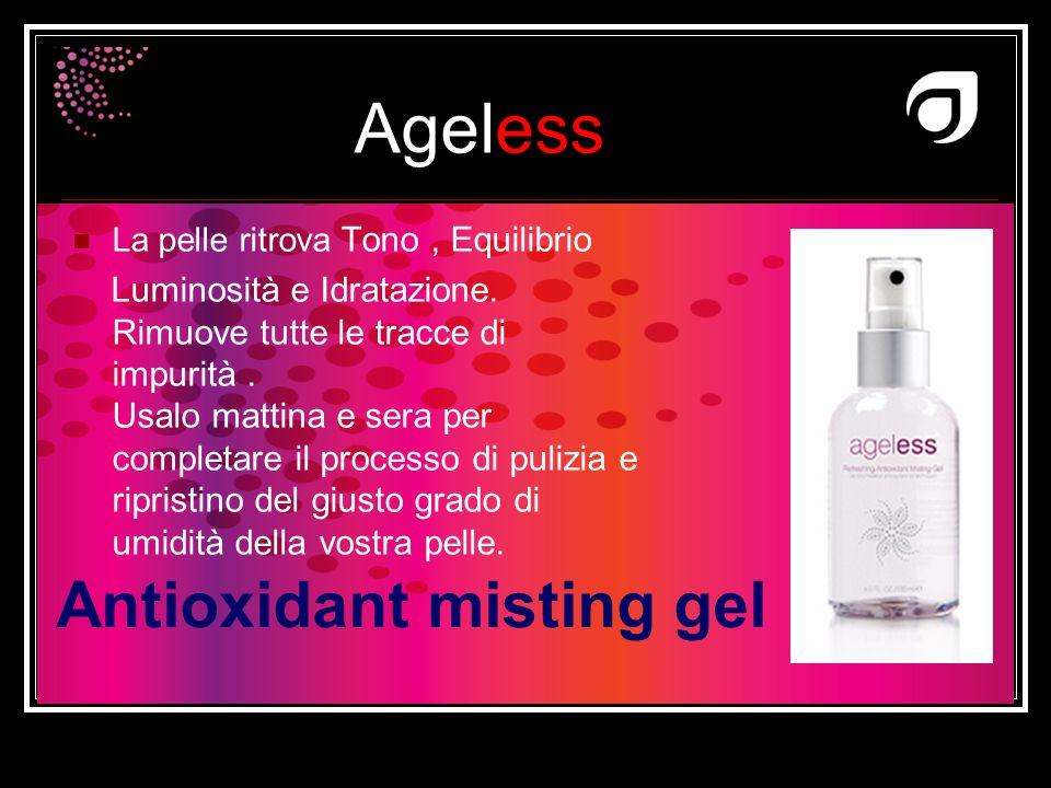 Antioxidant misting gel