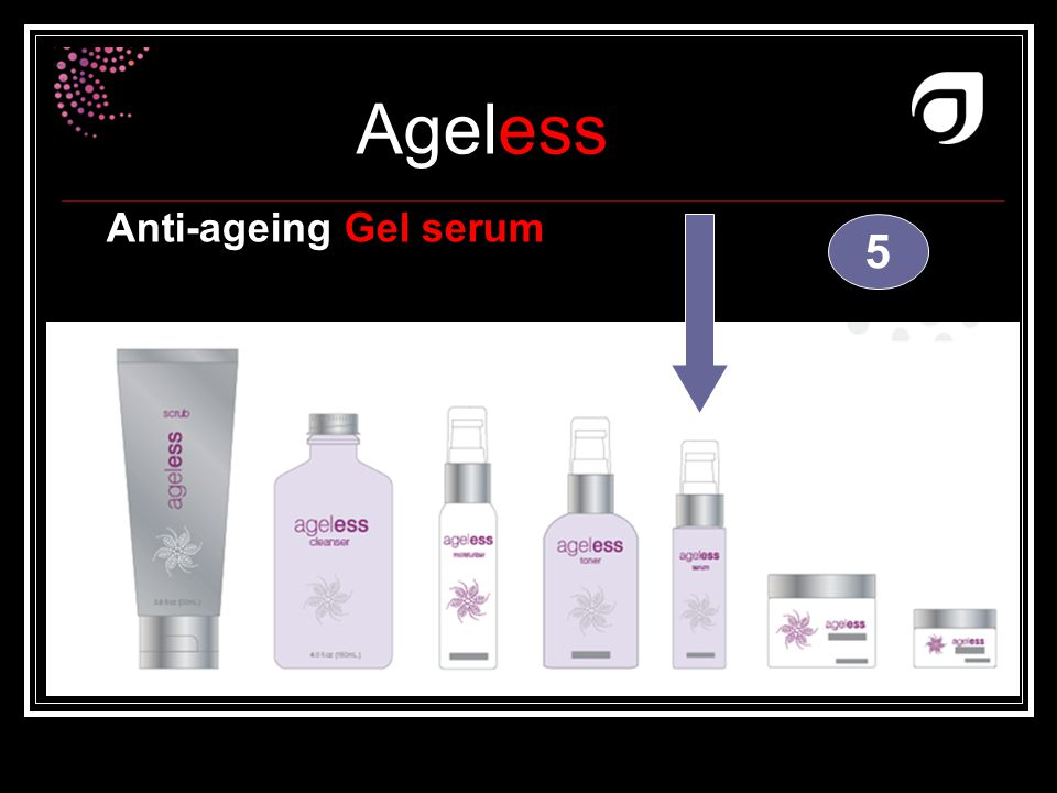 Anti-ageing Gel serum 5