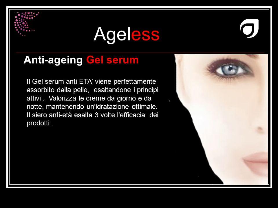 Anti-ageing Gel serum