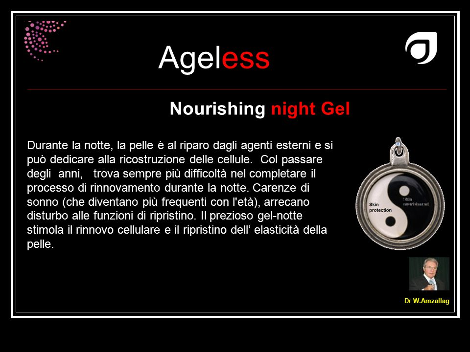 Nourishing night Gel