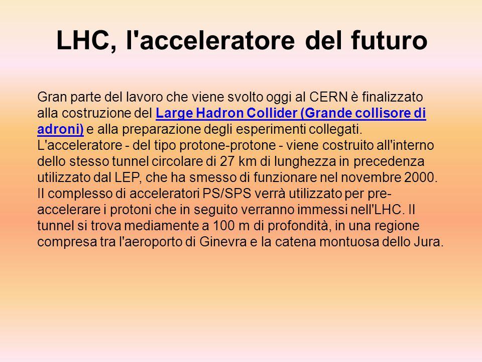 LHC, l acceleratore del futuro