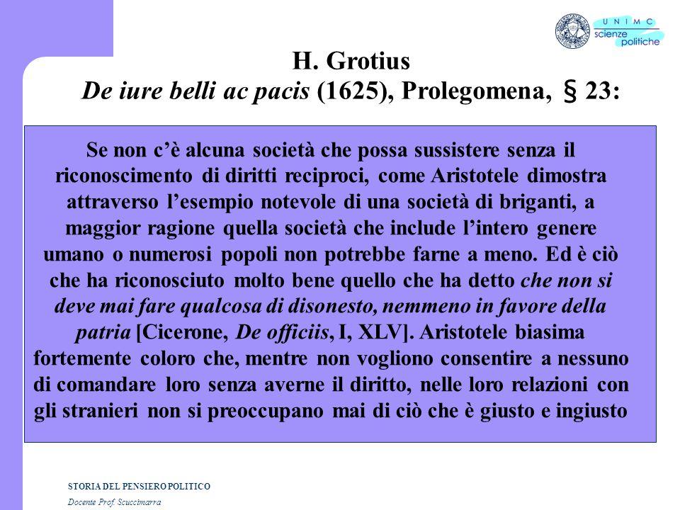 De iure belli ac pacis (1625), Prolegomena, § 23: