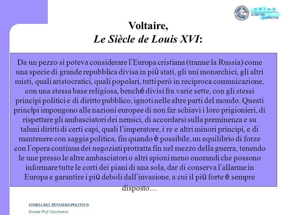 Voltaire, Le Siècle de Louis XVI:
