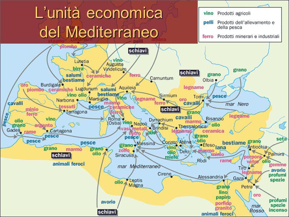 L'unità economica del Mediterraneo