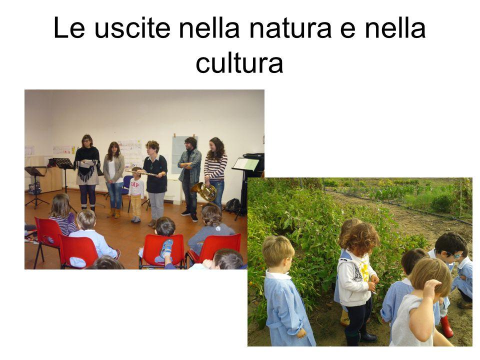Le uscite nella natura e nella cultura