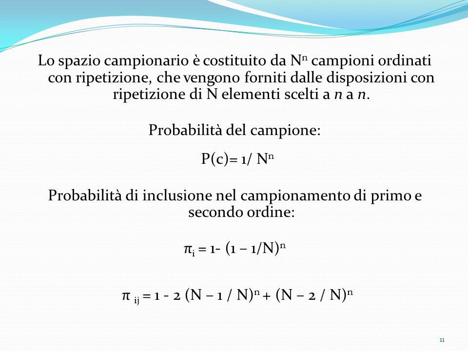 P(c)= 1/ Nn π ij = 1 - 2 (N – 1 / N)n + (N – 2 / N)n