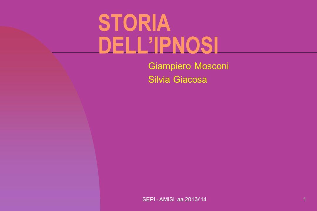 Giampiero Mosconi Silvia Giacosa