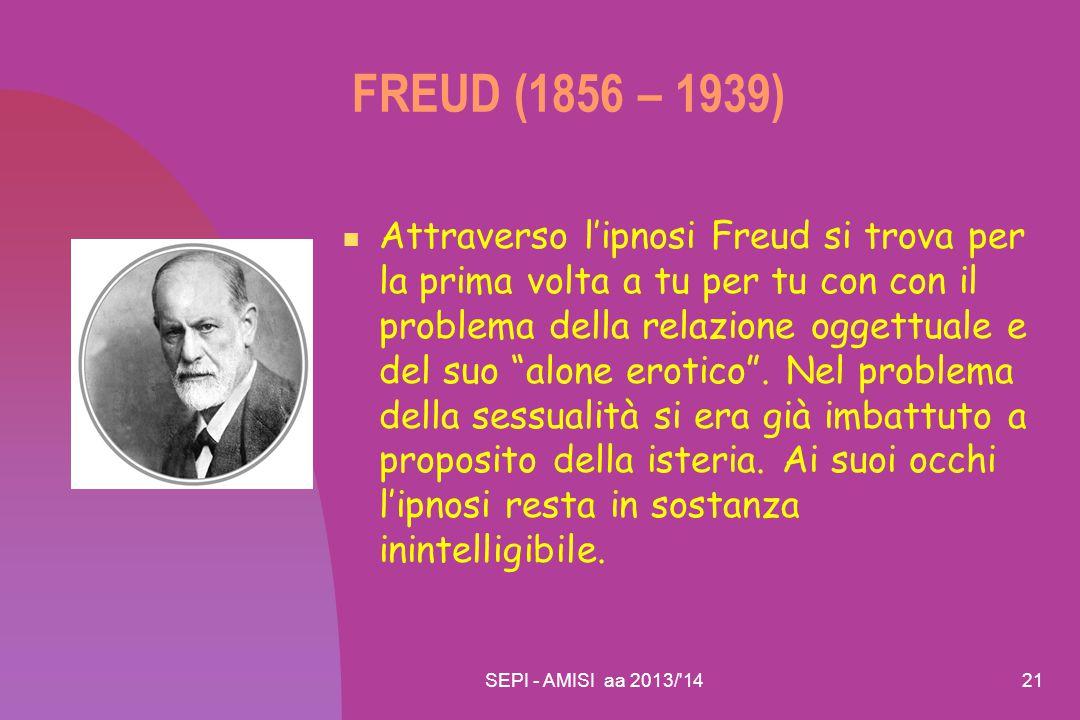 FREUD (1856 – 1939)