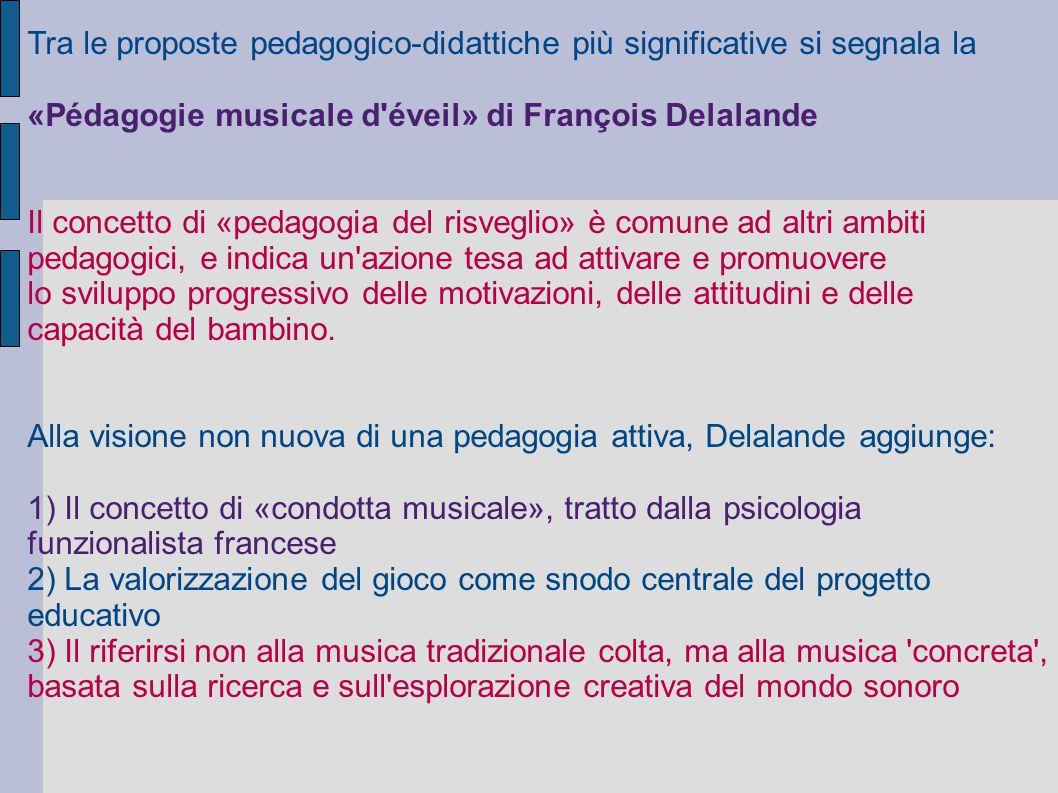 Tra le proposte pedagogico-didattiche più significative si segnala la