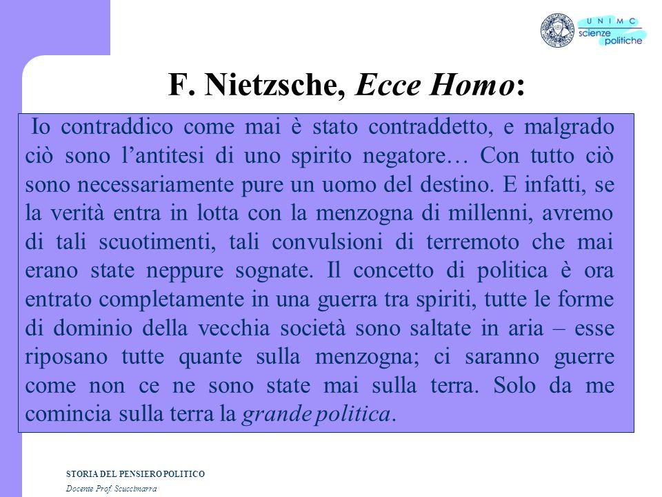 F. Nietzsche, Ecce Homo: