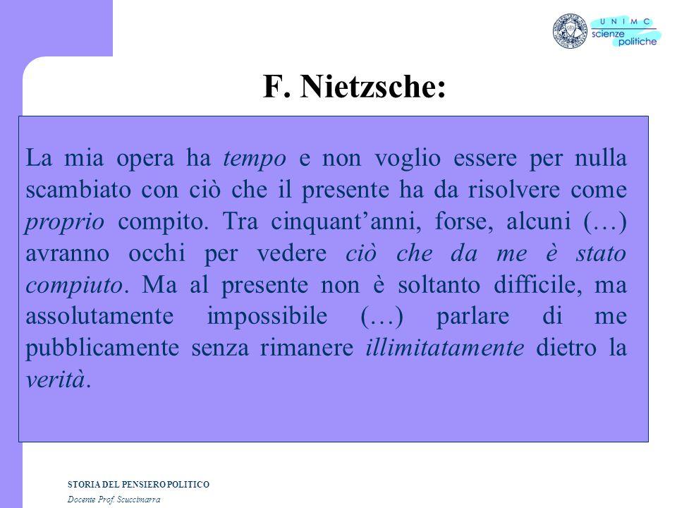 F. Nietzsche: