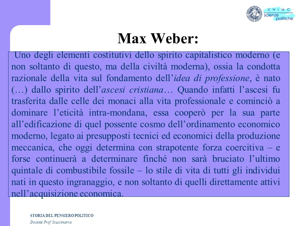 Max Weber: