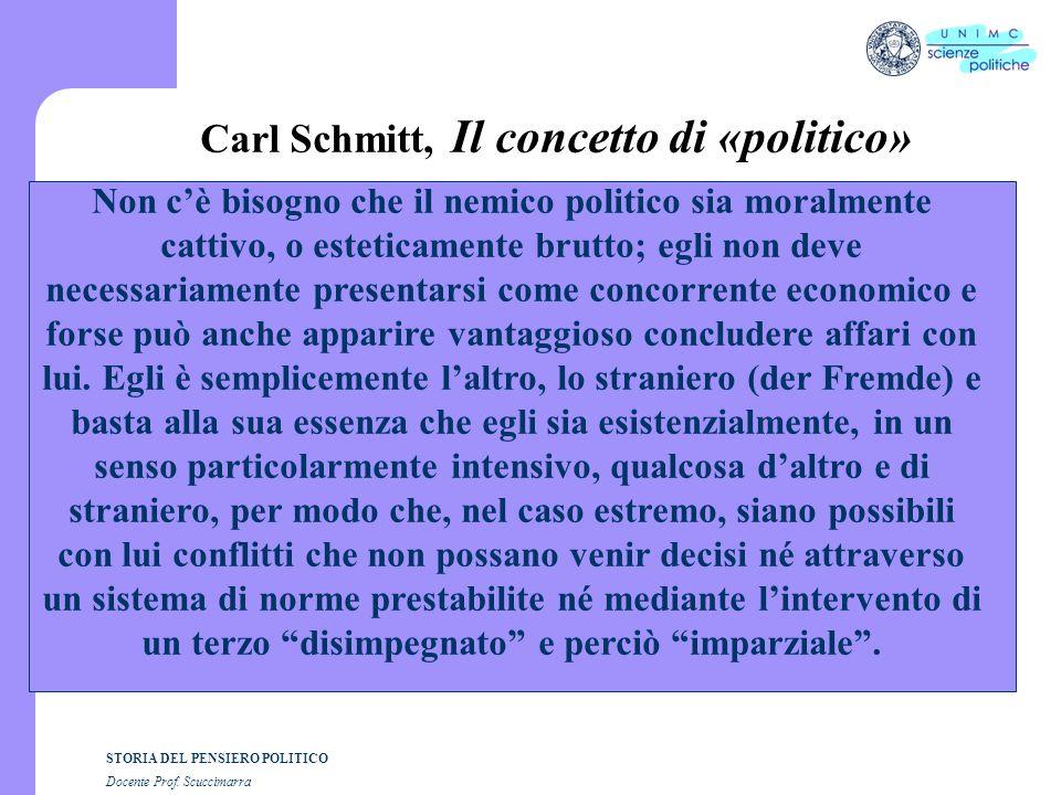 Carl Schmitt, Il concetto di «politico»