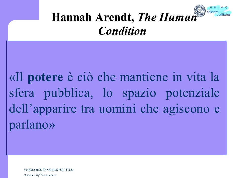 Hannah Arendt, The Human Condition