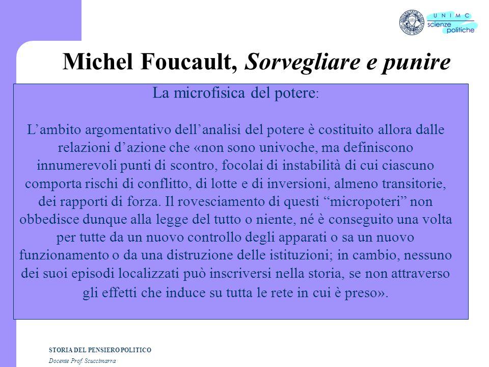 Michel Foucault, Sorvegliare e punire