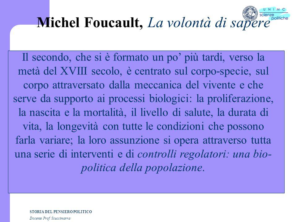 Michel Foucault, La volontà di sapere