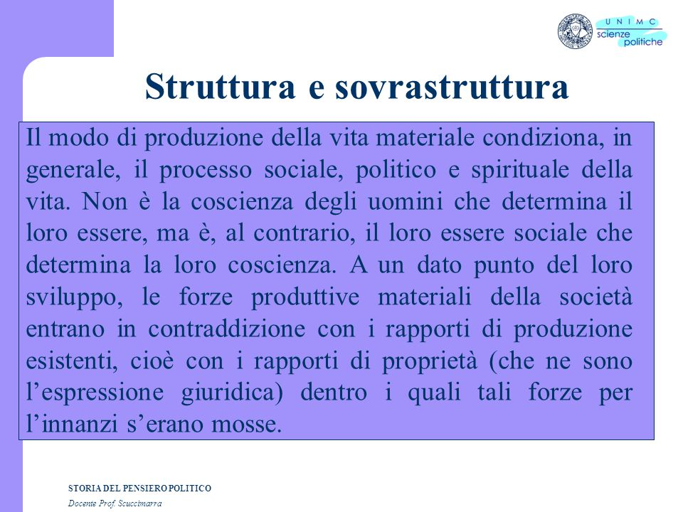 Struttura e sovrastruttura