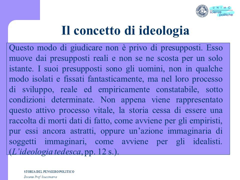 Il concetto di ideologia