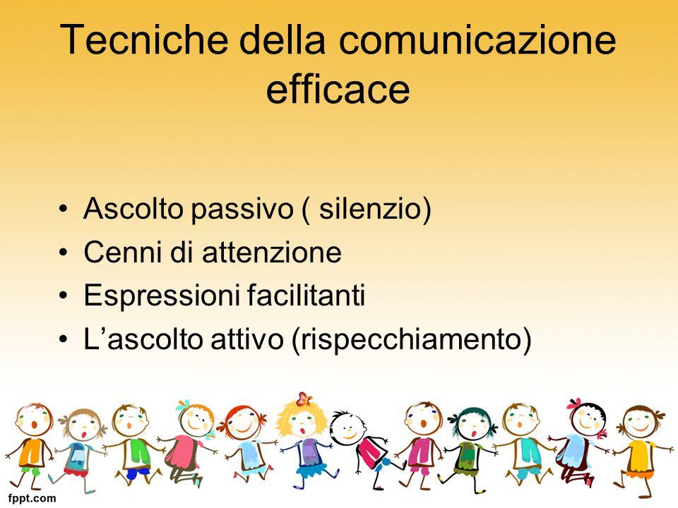 Tecniche della comunicazione efficace