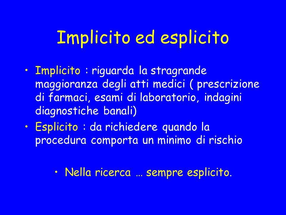 Implicito ed esplicito