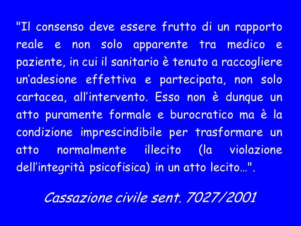 Cassazione civile sent. 7027/2001