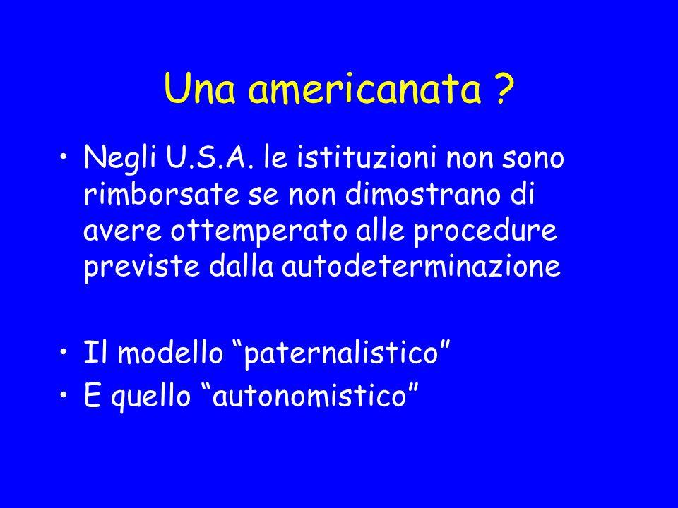Una americanata