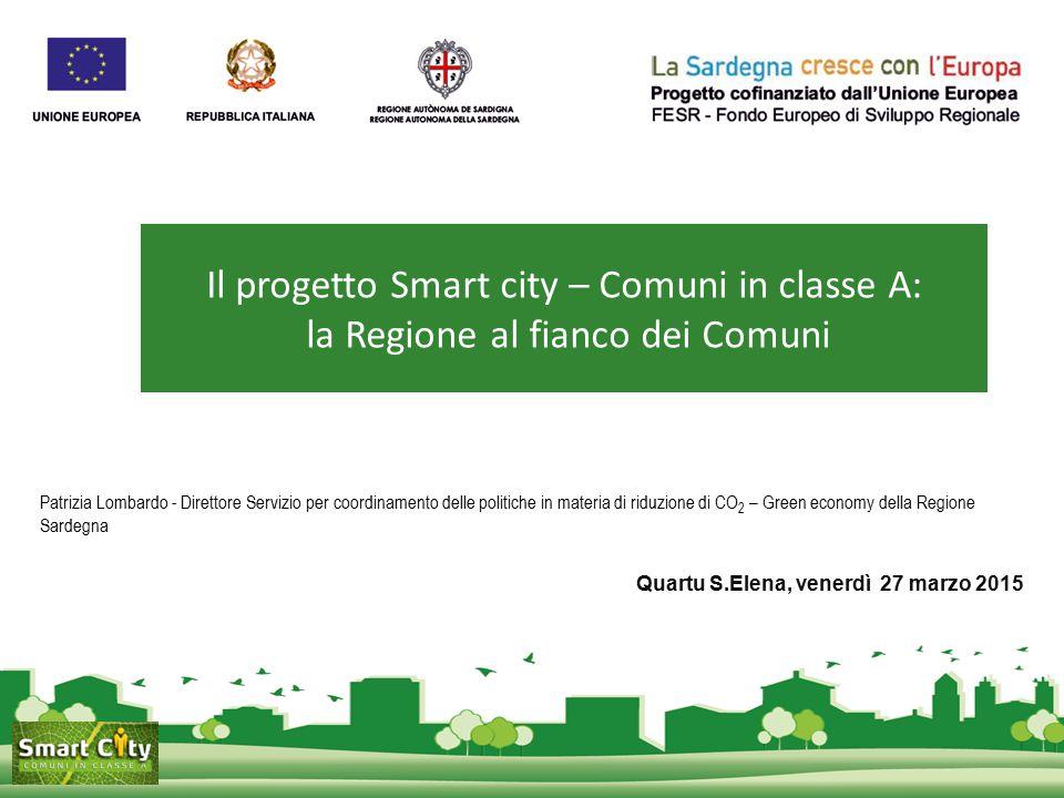 Il progetto Smart city – Comuni in classe A: