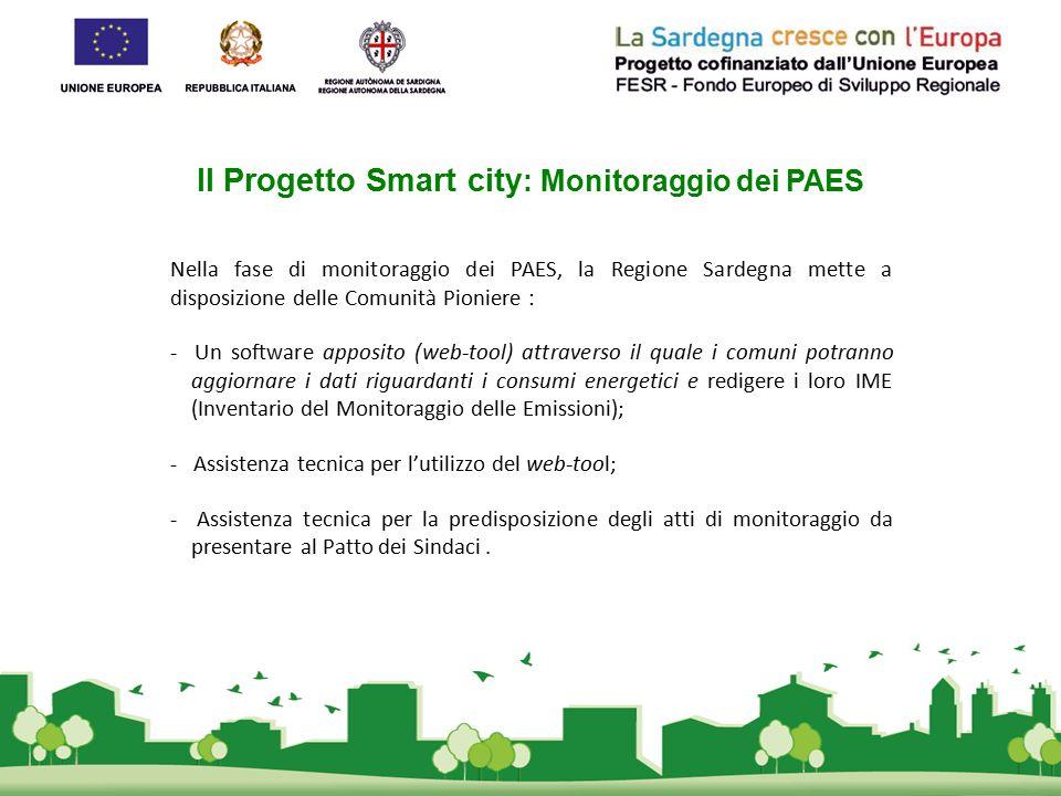 Il Progetto Smart city: Monitoraggio dei PAES