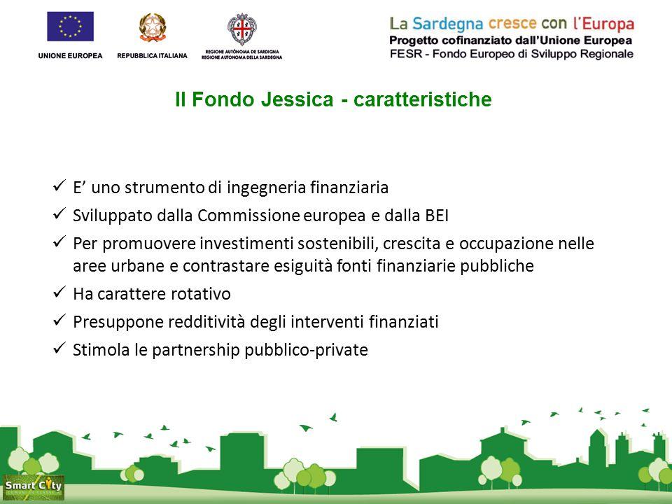 Il Fondo Jessica - caratteristiche