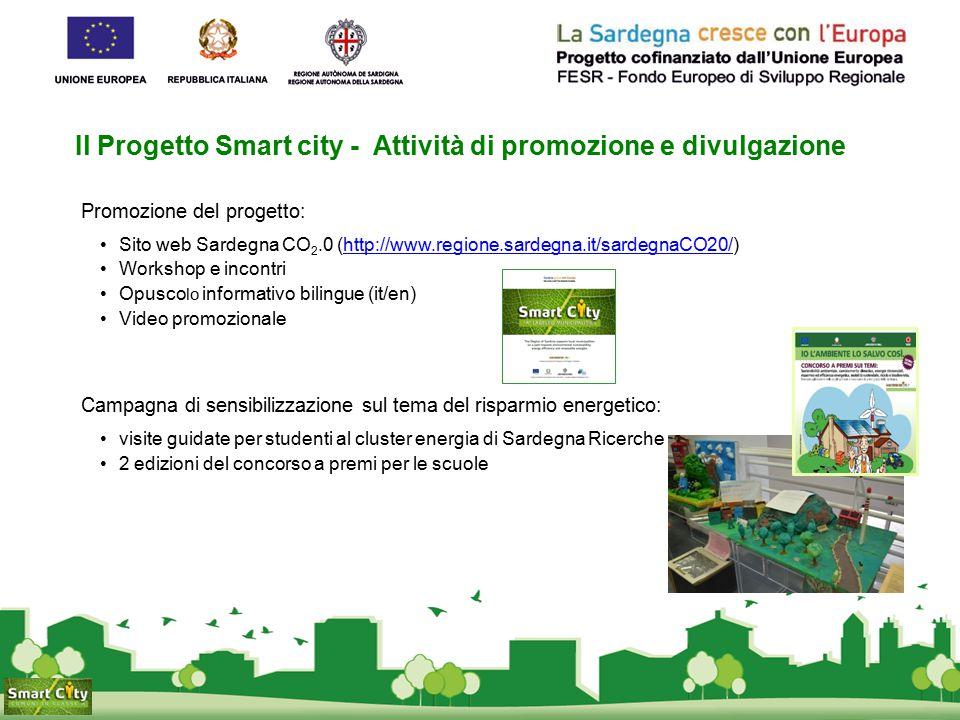 Il Progetto Smart city - Attività di promozione e divulgazione