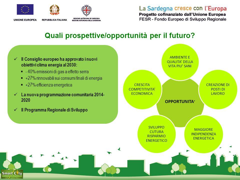Quali prospettive/opportunità per il futuro