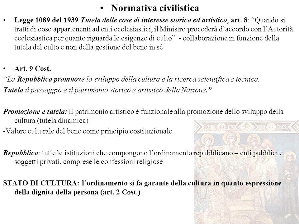 Normativa civilistica