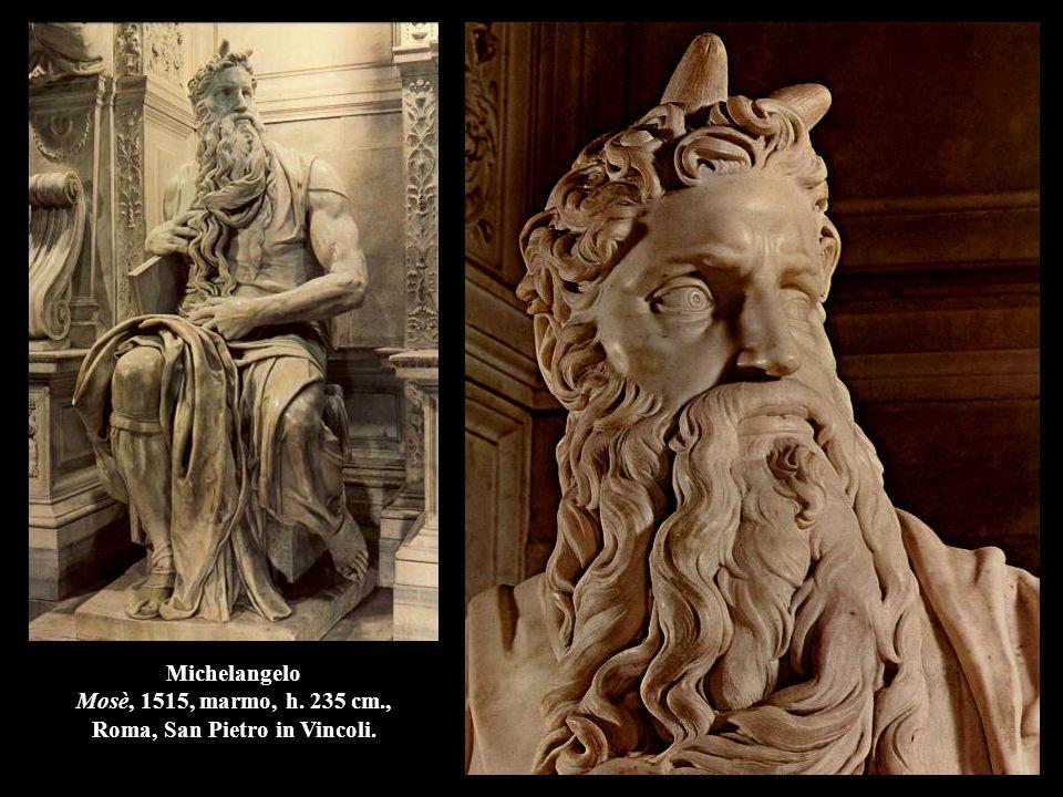 Michelangelo Mosè, 1515, marmo, h. 235 cm