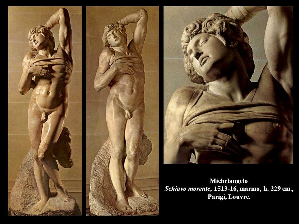 Michelangelo Schiavo morente, 1513-16, marmo, h. 229 cm