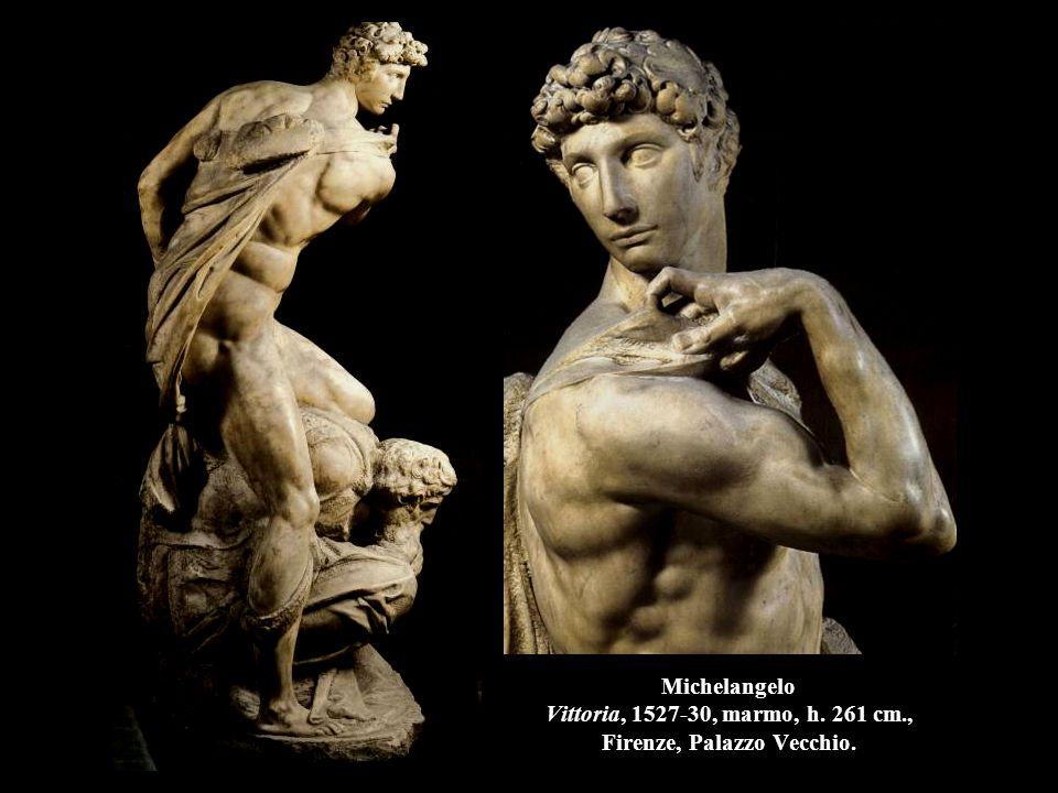Michelangelo Vittoria, 1527-30, marmo, h. 261 cm