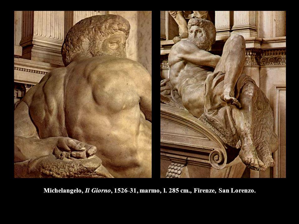 Michelangelo, Il Giorno, 1526-31, marmo, l. 285 cm