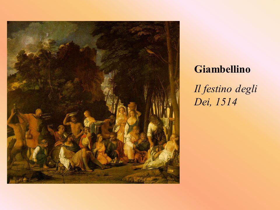 Giambellino Il festino degli Dei, 1514