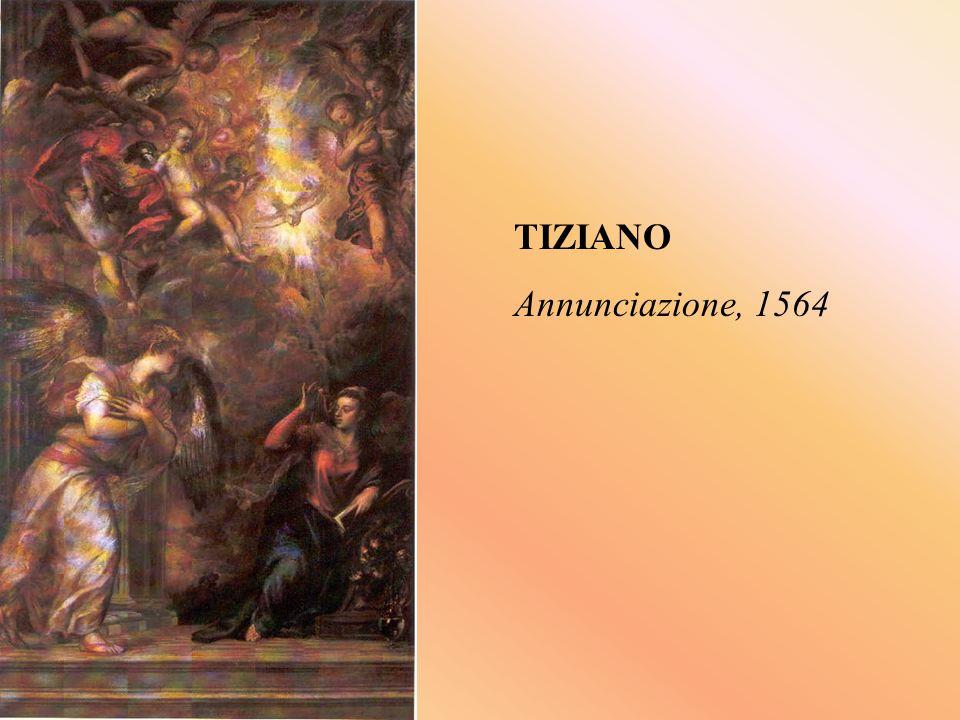 TIZIANO Annunciazione, 1564