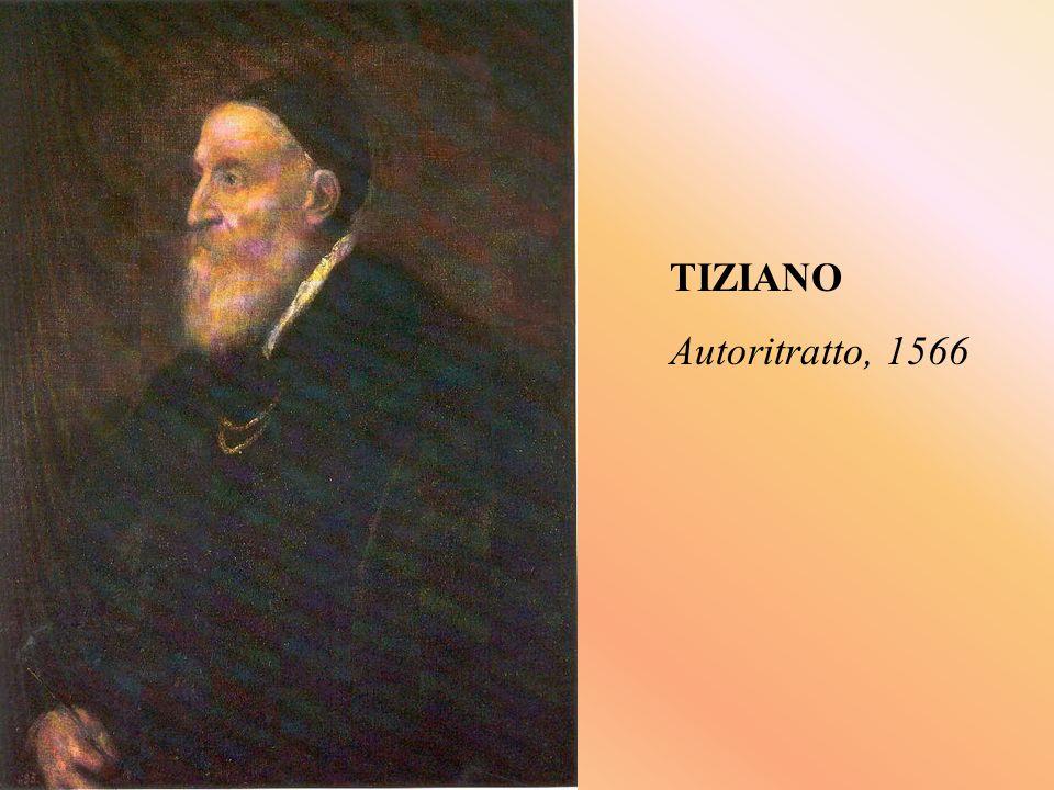 TIZIANO Autoritratto, 1566