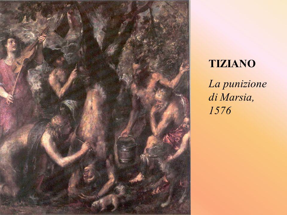 TIZIANO La punizione di Marsia, 1576