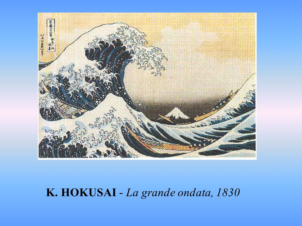 K. HOKUSAI - La grande ondata, 1830