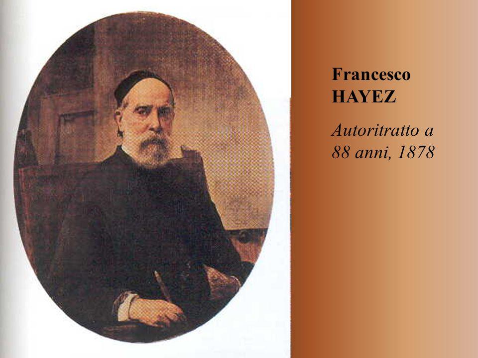 Francesco HAYEZ Autoritratto a 88 anni, 1878