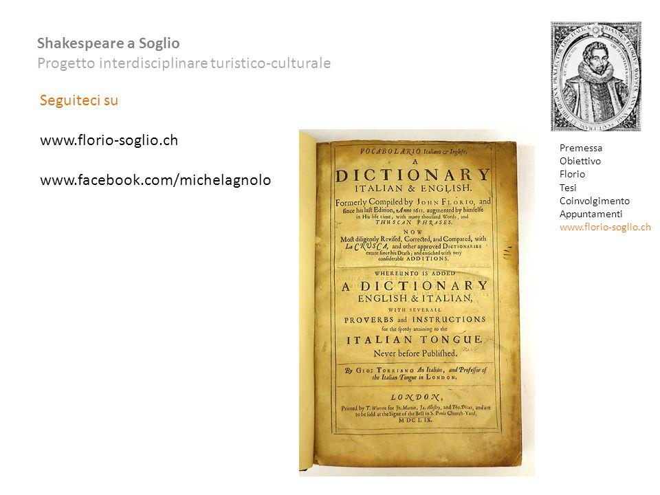 Seguiteci su www.florio-soglio.ch www.facebook.com/michelagnolo