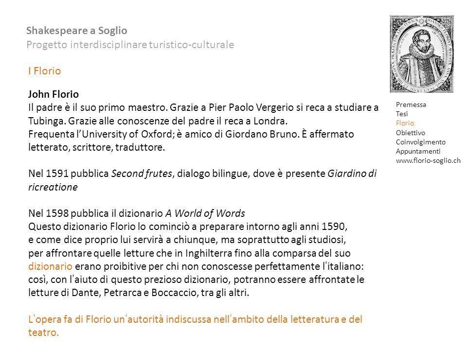 I Florio John Florio.