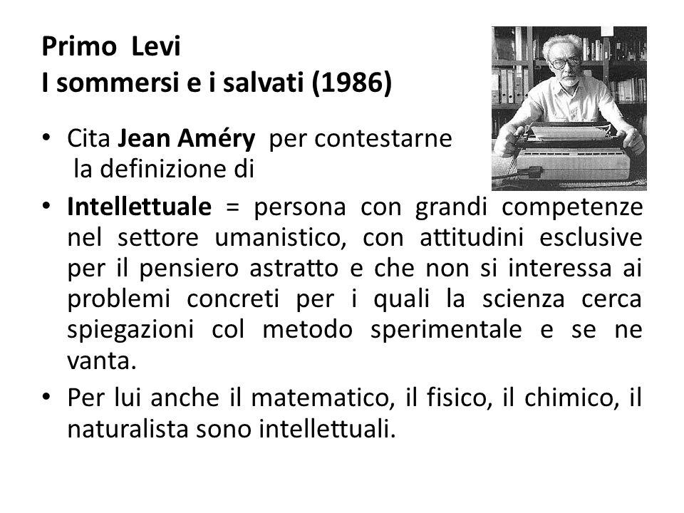 Primo Levi I sommersi e i salvati (1986)